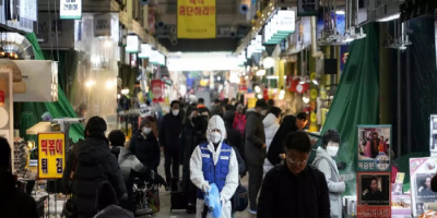 كوريا الجنوبية: 1684 إصابة جديدة بكورونا و8 وفيات