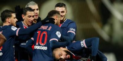 موعد مباراة باريس سان جيرمان أمام أنجيه بالدوري الفرنسي