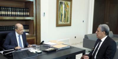 لبنان: عون يبحث مع وزير العدل أحداث الطيونة