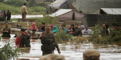 مصرع 10 أشخاص وفقدان 18 آخرين في فيضانات بالهند
