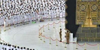أول صلاة بالمسجد الحرام بكامل الطاقة الاستيعابية