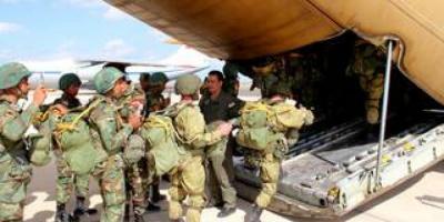 """انطلاق تدريب """"حماة الصداقة"""" المشترك بين روسيا ومصر"""