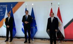 السيسي يشيد بالربط الكهربائي مع قبرص واليونان