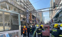 انفجار الصين اليوم.. مشاهد مروعة بالصوت والصورة