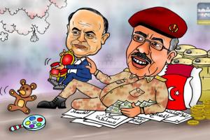 هادي دمية الأحمر (كاريكاتير)