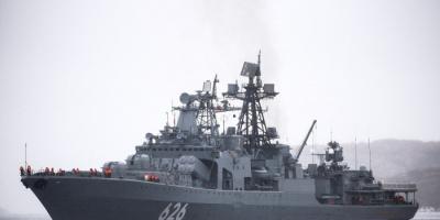 سفن حربية روسية وصينية تسير دورية مشتركة في المحيط الهادي