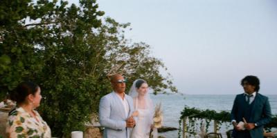 في لقطة مؤثرة.. فين ديزل عراب زفاف ابنة بول ووكر (فيديو وصور)