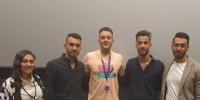 """بعد فوزه في مهرجان الجونة 2021.. أحمد الفيشاوي يشيد بفيلم """"كباتن الزعتري"""""""