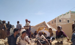 اعتصام عرماء يطالب التحالف بإنقاذ شبوة من خيانة الشرعية
