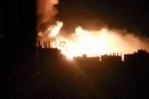 انفجارات عنيفة في مدينة ذمار